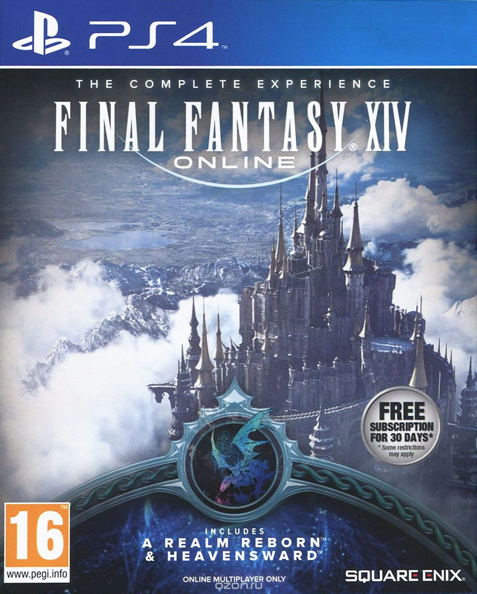 Final Fantasy XIV. Полное издание (A Realm Reborn + Heavensward) (PS4)