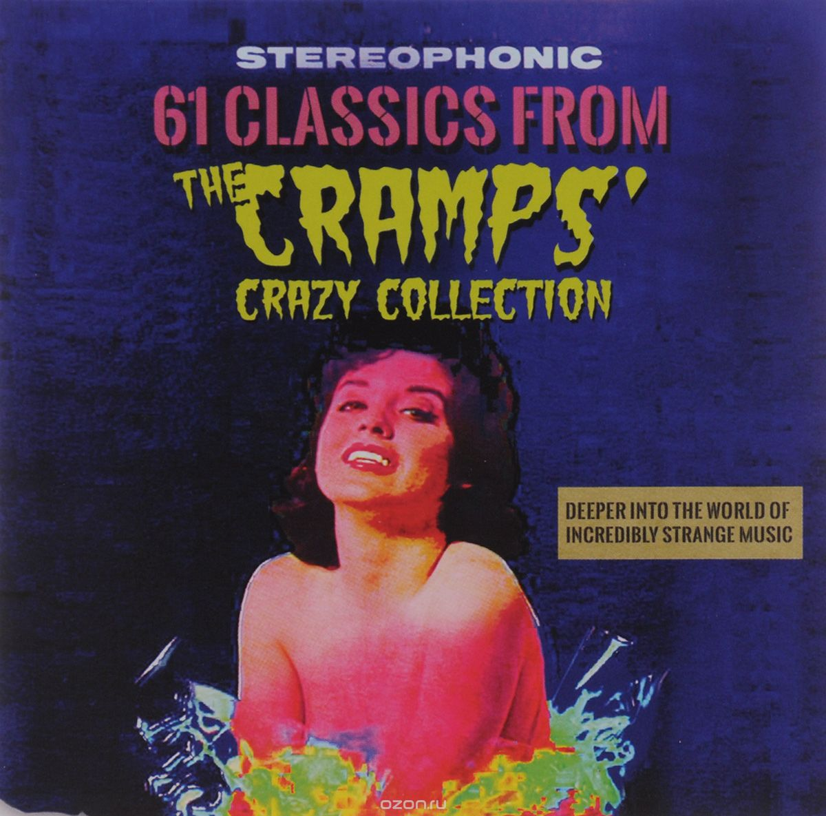 61 Classics From The Cramps. Crazy Collection (2CD)
