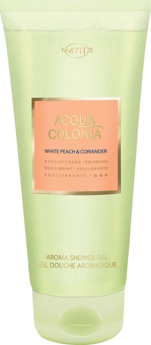 4711 Acqua Colonia Balancing White Peach & Coriander √ель дл¤ душа, 200 мл